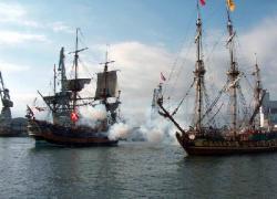Piraten im Hafen